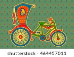 Vector Design Of Cycle Ricksha...