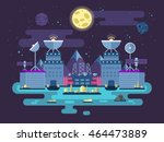stock vector illustration of... | Shutterstock .eps vector #464473889