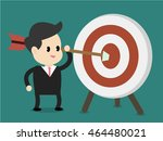 goal concept | Shutterstock .eps vector #464480021