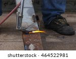 Small photo of oxygen acetylene welding cutting torch