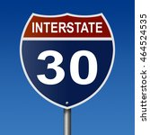 a 3d rendering of a highway...   Shutterstock . vector #464524535
