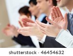 photo of business partners... | Shutterstock . vector #46454632