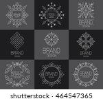 brand design element for... | Shutterstock .eps vector #464547365