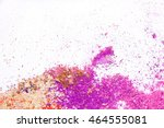 eyeshadow cosmetic powder... | Shutterstock . vector #464555081
