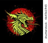 Head Of Dragon With Open Mouth...