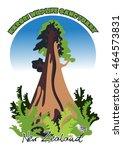 vector sign for the karori... | Shutterstock .eps vector #464573831