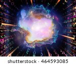 digital glow series. background ... | Shutterstock . vector #464593085