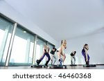 young healthy people group... | Shutterstock . vector #46460368