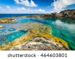 incredible natural pool at the... | Shutterstock . vector #464603801