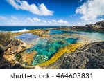 incredible natural pool at the... | Shutterstock . vector #464603831