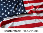 us flag | Shutterstock . vector #464644301