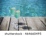 Two Champagne Glasses By...