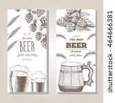 banner set. vector illustration ... | Shutterstock .eps vector #464666381