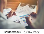 financial accounting investment ... | Shutterstock . vector #464677979