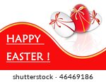 illustration different easter... | Shutterstock . vector #46469186
