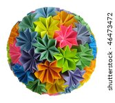 Colorfull Origami Kusudama From ...