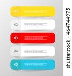 vector lines arrows infographic....   Shutterstock .eps vector #464744975