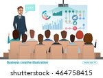 business professional work team ...   Shutterstock .eps vector #464758415