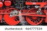 dutch vsm steam locomotive... | Shutterstock . vector #464777534