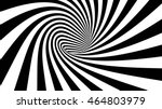 3d vector striped spiral... | Shutterstock .eps vector #464803979