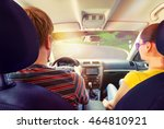 couple traveling | Shutterstock . vector #464810921
