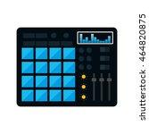 equalizer music sound dj melody ... | Shutterstock .eps vector #464820875