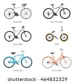 set of the different vector... | Shutterstock .eps vector #464832329