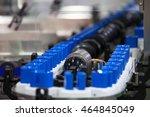 shampoo bottles transfer on... | Shutterstock . vector #464845049