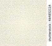 seamless background baroque... | Shutterstock .eps vector #464852114