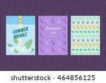 Summer Card Set. Vector...