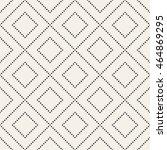 vector seamless pattern. modern ... | Shutterstock .eps vector #464869295
