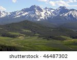 Sawtooth Mountains Near Stanle...