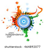 indian independence day concept ... | Shutterstock .eps vector #464892077