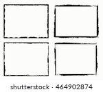 grunge frame.grunge background... | Shutterstock .eps vector #464902874