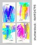 dynamic design backgrounds set ...   Shutterstock .eps vector #464924795
