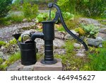 Old Water Pump With A Bucket