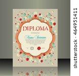 diploma | Shutterstock .eps vector #464951411