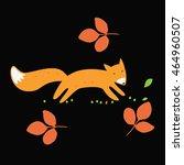 vector fox | Shutterstock .eps vector #464960507