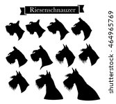 Set Of Riesenschnauzer Or Gian...