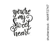 You're My Sweet Heart Card....