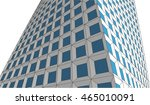 abstract architecture 3d vector