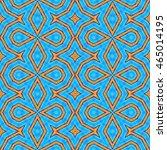 cyan turquoise seamless design | Shutterstock . vector #465014195