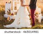 bride and groom at outdoor...   Shutterstock . vector #465014981