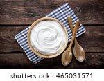 sour cream   Shutterstock . vector #465031571