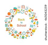 illustration background for... | Shutterstock .eps vector #465043259