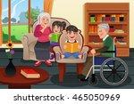 a vector illustration kids... | Shutterstock .eps vector #465050969
