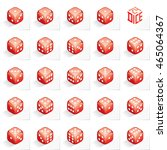 a set of 24 authentic icons of... | Shutterstock .eps vector #465064367