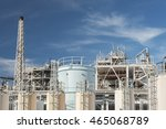 oil factory | Shutterstock . vector #465068789