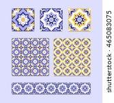 Vector Set Of 3 Ceramic Tiles ...