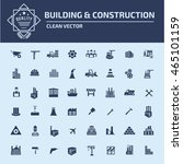 construction icon industry icon ... | Shutterstock .eps vector #465101159